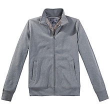 Buy Tommy Hilfiger Shea Zip Through Fleece, Silver Fog Heather Online at johnlewis.com