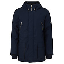 Buy Eleven Paris Malo Padded Anorak Jacket, Navy Online at johnlewis.com