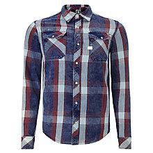Buy G-Star Raw Landoh Check Button Up Shirt Online at johnlewis.com