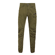 Buy G-Star Raw Rovic Zip 3D Tapered Trousers, Forest Night Online at johnlewis.com