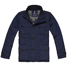Buy Tommy Hilfiger Francky Down Airfield Jacket, Navy Blazer Online at johnlewis.com