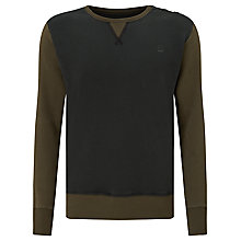 Buy G-Star Raw Harm Crew Neck Sweatshirt, Fearn Online at johnlewis.com