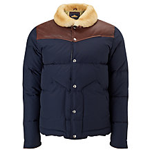 Buy Penfield Rockwall Down Insulated Puffer Jacket, Navy Online at johnlewis.com