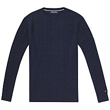 Buy Tommy Hilfiger Cable Knit Jumper Online at johnlewis.com