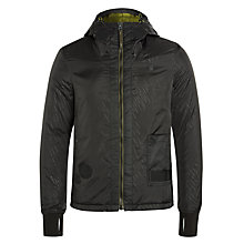 Buy G-Star Raw Whistler Hooded Bomber Jacket, Black Online at johnlewis.com