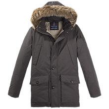 Buy Tommy Hilfiger Houston Parka Coat, Mulch Online at johnlewis.com