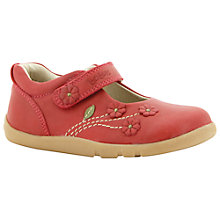 Buy Bobux Wild Flower Leather Mary Jane Shoes Online at johnlewis.com