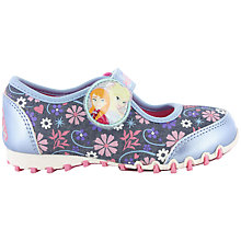 Buy Disney Frozen Anna & Elsa Shoes, Blue/Multi Online at johnlewis.com