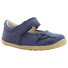 Buy Bobux Mayflower MJ Leather Shoes, Blue Online at johnlewis.com