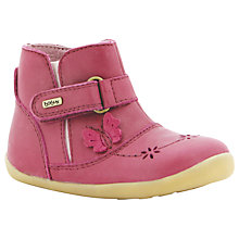 Buy Bobux Flutter Boots, Pink Online at johnlewis.com