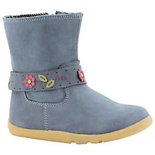 Buy Bobux Aztec Rose Leather Boots, Blue Online at johnlewis.com