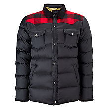 Buy Penfield Rockford Down Insulated Jacket, Black Online at johnlewis.com