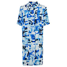 Buy Fenn Wright Manson Print Linnea Silk Dress, Jazz Blue Online at johnlewis.com