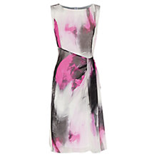 Buy Fenn Wright Manson Alisma Silk Dress, Pink Print Online at johnlewis.com