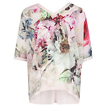 Buy Ted Baker Pure Peony Jumper, Dusky Pink Online at johnlewis.com
