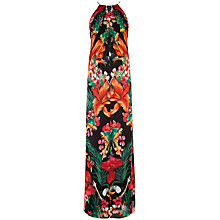 Buy Ted Baker Mircana Tropical Toucan Maxi Dress, Black Online at johnlewis.com