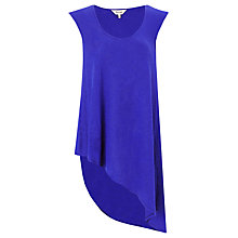 Buy Phase Eight Henrietta Asymmetric Hem Top, Iris Online at johnlewis.com