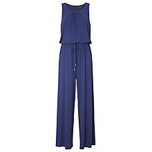 Buy Phase Eight Walda Jumpsuit, Navy Online at johnlewis.com
