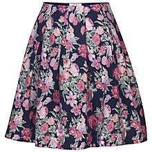 Buy Fat Face Amersham Garden Skirt, Navy Online at johnlewis.com