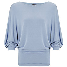 Buy Phase Eight Danni Dolman Sleeve Top, Mist Online at johnlewis.com