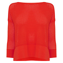 Buy Karen Millen Signature Stripe Jumper Online at johnlewis.com