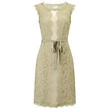 Buy Phase Eight Justine Lace Dress, Pistachio/Cream Online at johnlewis.com