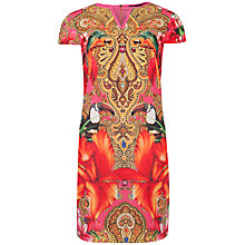 Buy Ted Baker Paisley Toucan Tunic Dress, Multi Online at johnlewis.com