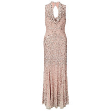 Buy Phase Eight Collection 8 Greta Sequin Dress, Petal/Silver Online at johnlewis.com