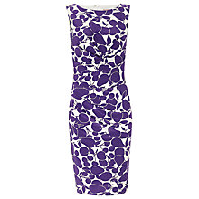 Buy Phase Eight Tuti Printed Dress, Violet/Cream Online at johnlewis.com