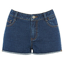 Buy Warehouse Denim Shorts, Dark Wash Online at johnlewis.com