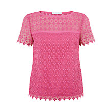Buy Fenn Wright Manson Angel Rose Top, Pink Online at johnlewis.com