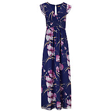Buy Phase Eight Hiromi Print Maxi Dress, Iris Online at johnlewis.com