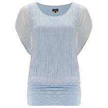 Buy Phase Eight Bea Silk Blend Blouse, Opal Online at johnlewis.com