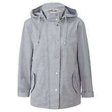Buy Jigsaw Short Parka, Pale Blue Online at johnlewis.com