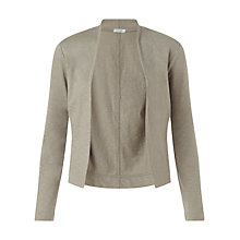 Buy Jigsaw Cotton Flame Jacket, Soft Khaki Online at johnlewis.com