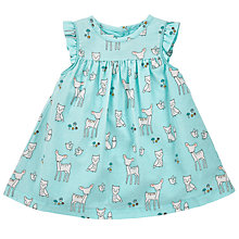 Buy John Lewis Baby's Animal Cord Dress, Blue Online at johnlewis.com