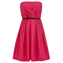 Buy Coast Shirley Dress, Fuchsia Online at johnlewis.com