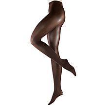 Buy Falke Pure Matte 50 Denier Tights, Brown/Burgundy Online at johnlewis.com