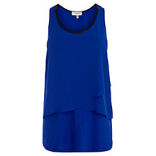 Buy Coast Kitty Tiered Top, Cobalt Blue Online at johnlewis.com