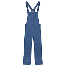 Buy Gerard Darel Linen Aigue Marine Dungarees, Blue Online at johnlewis.com