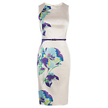 Buy Coast Bernice Duchess Satin Dress, Multi Online at johnlewis.com