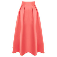 Buy Coast Petite Meslita Skirt, Coral Online at johnlewis.com
