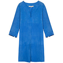 Buy Gerard Darel Leather Angelys Dress, Blue Online at johnlewis.com