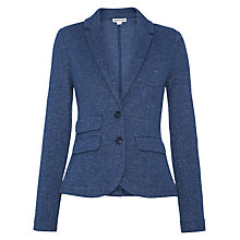 Buy Whistles Double Faced Jacket, Navy Online at johnlewis.com