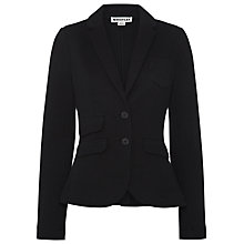Buy Whistles Double Faced Jacket, Black Online at johnlewis.com