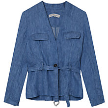 Buy Gerard Darel Amnesia Jacket, Blue Online at johnlewis.com