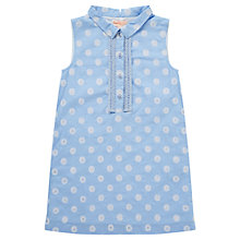 Buy Jigsaw Junior Girls' Dot Dress, Blue Online at johnlewis.com