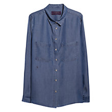 Buy Violeta by Mango Medium Denim Shirt, Medium Blue Online at johnlewis.com