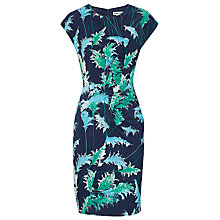 Buy Whistles Pampus Print Bodycon Dress, Navy Online at johnlewis.com