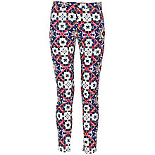 Buy French Connection Electric Mosaic Trousers, Blue Online at johnlewis.com